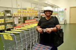 CAMBA food pantry_woman