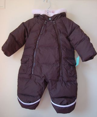 Since we posted some boys' snowsuits last week, I figured we'd show a couple ...