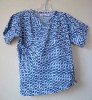 Lucky-wang-blue-kimono