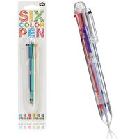 Six-color-pen