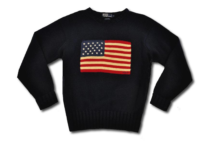 ralph lauren american flag sweaters for kids