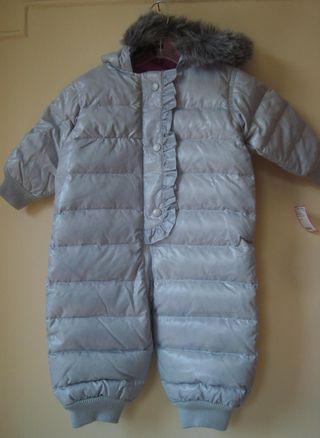 Silver-snowsuit