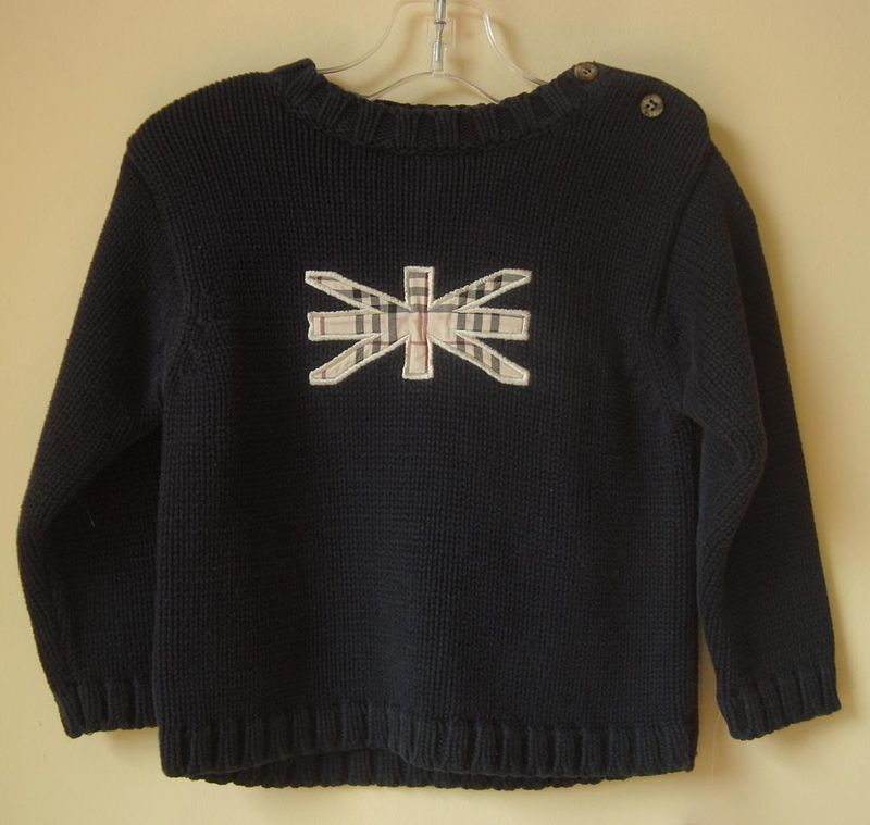 Burberry-sweater